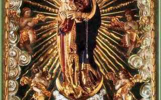 Religione: maria  regina degli angeli  svizzera