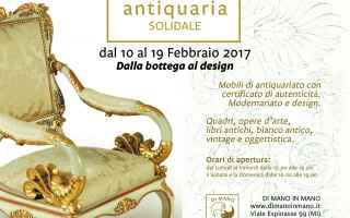 Milano: dimanoinmano  antiquaria solidale 2017