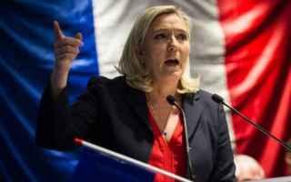 dal Mondo: le pen  francia  elezioni  sinistra