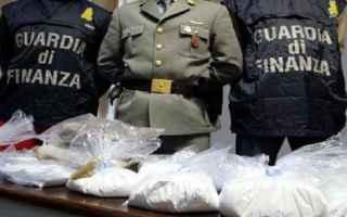 Notizie locali: droga  sequestro  guardia di finanza