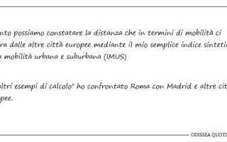 Una risposta interessante alla lettera aperta ad Enrico Stefàno sui progetti per la mobilità a Rom
