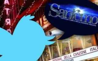 Twitter: twitter  social  tim  festival san remo