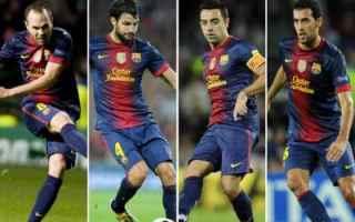 Calcio: tiki-taka  barcellona  spagna  calcio