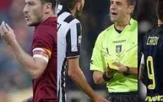 Calcio: inter  juventus  rizzoli
