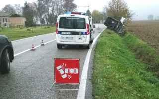 Notizie locali: incidente auto moto cologna muore