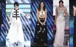 Televisione: sanremo  festival  rai 1  look  fashion