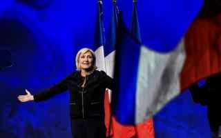 dal Mondo: francia  lepen  macron  eliseo  hamon