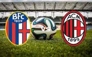 Serie A: bologna  milan  campionato  serie a