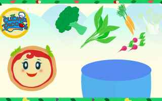 Video divertenti: cartoni animati  bambini  healty food