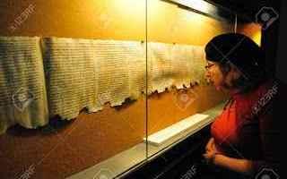 storia  archeologia  rotoli