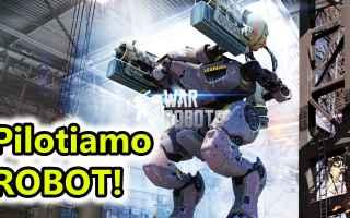 war robots  android  mech  robot  azione