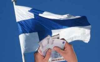 dal Mondo: reddito minimo  finlandia
