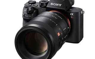 sony obiettivo fotocamere fotografia