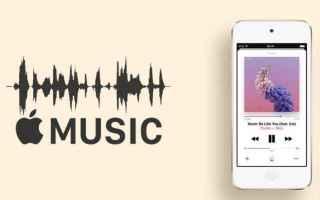 Audio: apple music  qualità  audio  streaming