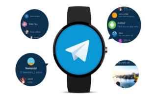 telegram  android  smartwatch  wear