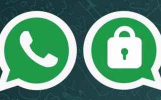 App: whatsapp  app  sicurezza