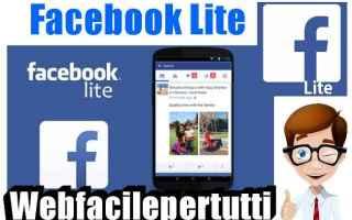 Facebook: facebook lite  facebook  app