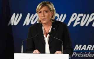 dal Mondo: marine le pen  francia  elezioni