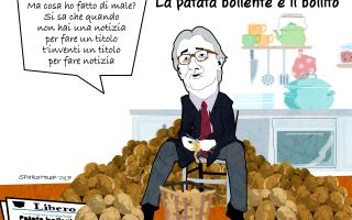 Satira: satira  patatabollente  raggi  sparatrap