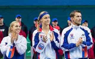 Tennis: tennis grand slam fed cup slovacchia