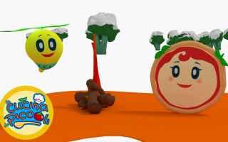 Video divertenti: cartoni  minestra  bambini