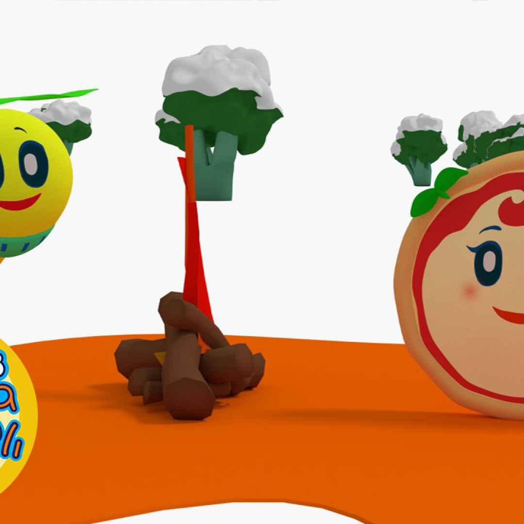 Margherita e la minestrina cartoni animati per bambini
