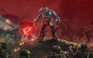 Console games: halo wars 2  anteprima xbox one