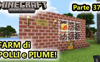 Mobile games: minecraft  minecraftpe  farm polli