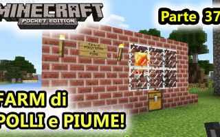 Mobile games: minecraft  minecraftpe  farm polli