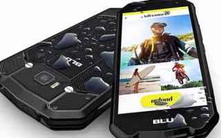 Cellulari: smartphone  rugged  blu
