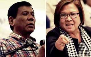 dal Mondo: filippine  duterte  de lima