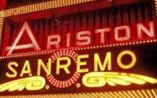 Televisione: sanremo  festival  ariston