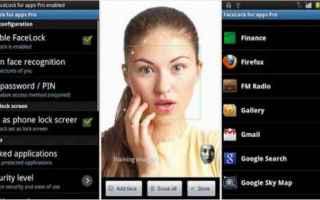 Sicurezza: android  riconoscimento facciale