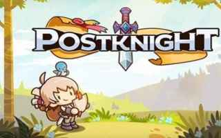 Mobile games: postknight  videogame  gdr  apps