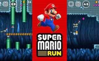 Mobile games: super mario  nintendo