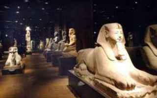 Torino: museo egizio  antico egitto