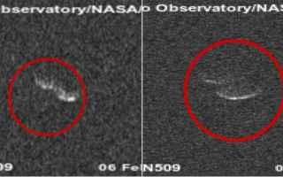 Astronomia: asteroide  terra