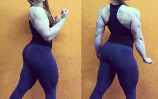 Fitness: Si chiama Julia la star del body building su Instagram