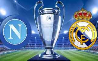 real madrid  napoli  streaming