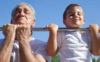 Fitness: attività fisica  invecchiamento  salute