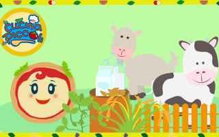 Video divertenti: cartoni animati  bambini  cibo sano