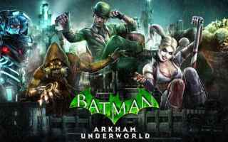 Mobile games: android batman videogiochi
