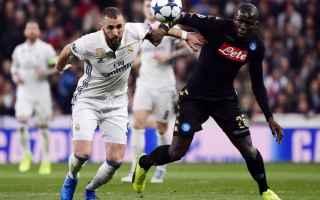 Champions League: napoli  sarri  real  de laurentiis