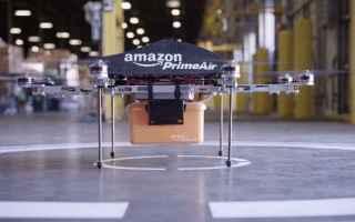 Tecnologie: droni  amazon