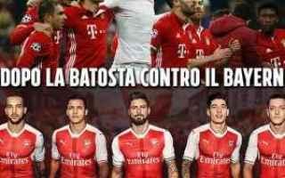 Bayern Monaco - Arsenal è terminata con il risultato di 5 - 1.<br />I tifosi, che fino alla fine d