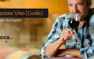 Gastronomia: vino  degustazione  somelier