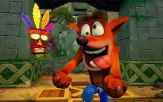 Console games: ps4  crash bandicoot