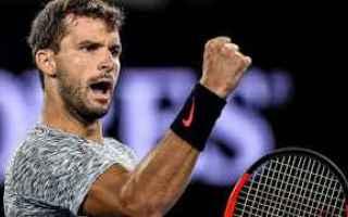 Tennis: tennis grand slam dimitrov rotterdam