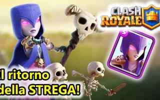 Mobile games: clash royale  android  strega  deck