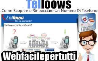 telloows  anonimato telefonia